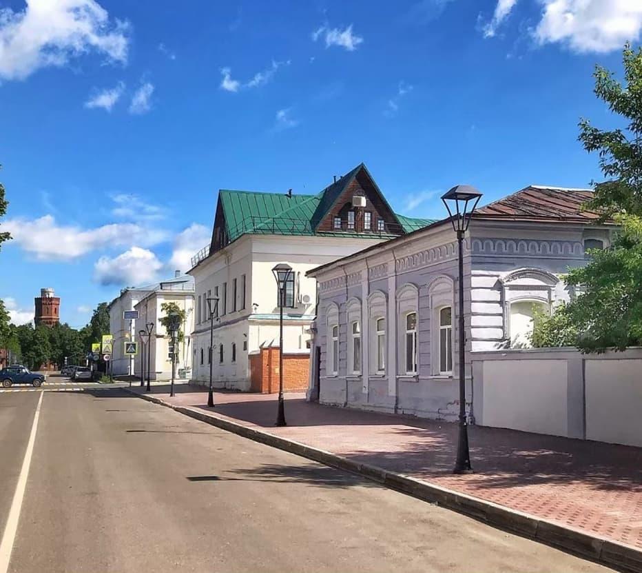 Дома Зарайск